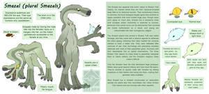 Smazel Species Reference Sheet