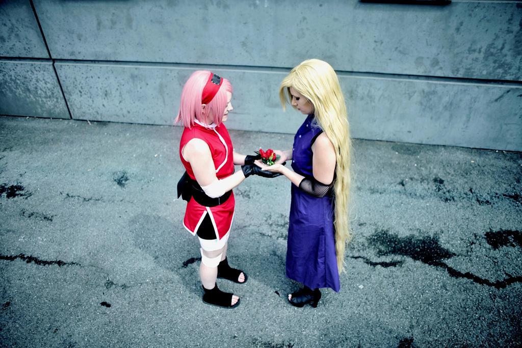 Ino and Sakura (the last) by Hiyori29
