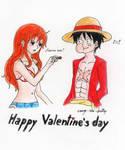 Valentine's day-LuNa by orange-star-destiny