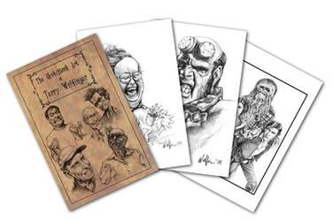 My Sketchbook by WolfieArtGuy