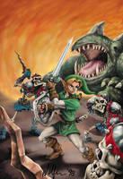 Zelda by WolfieArtGuy