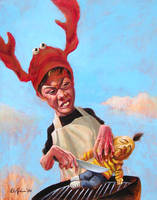 Lobster Boy by WolfieArtGuy