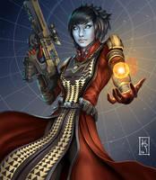 Lady Warlock by ArtKreed