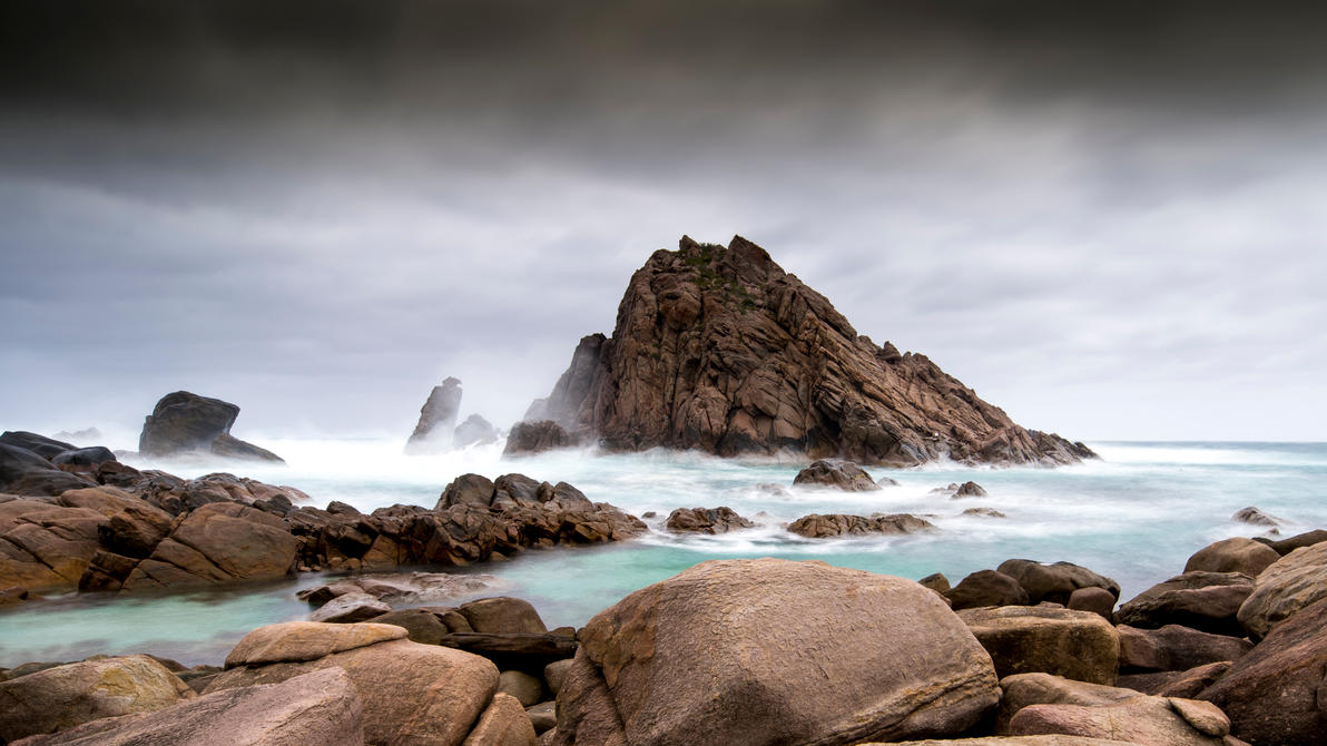 Sugarloaf Rock Revisited. by ozlizard