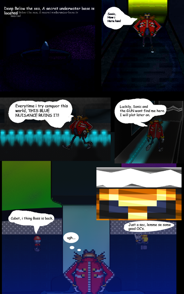 Sonic Forces DX page 1 by theshsx71