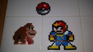 Nintendo Perlers by GREENDAY1989