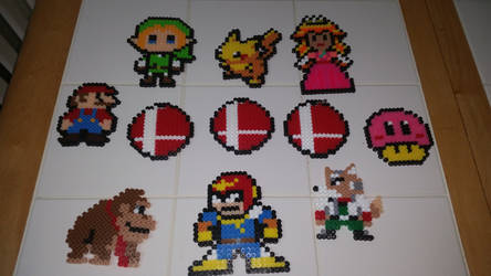 Super Smash Perlers Melee! by GREENDAY1989