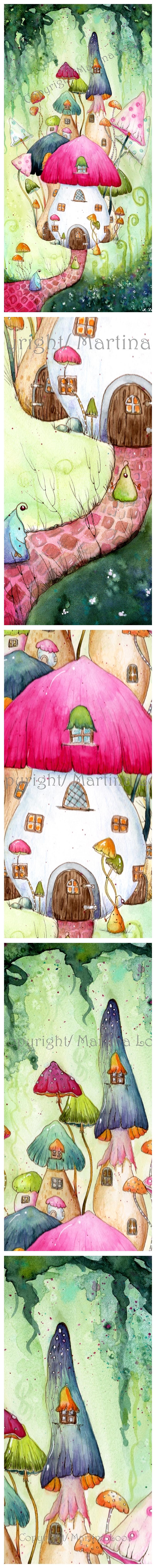 kartoffelknolli Dorf klein mit sigi-tile by dragonflywatercolors