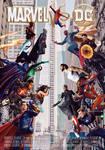 Marvel VS DC Comics Movie Poster