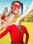Andy Samberg as DC's Plastic Man
