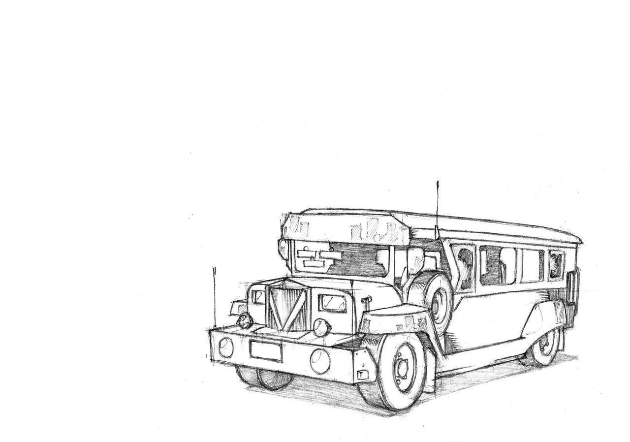 Jeepney! by danielsingzon on DeviantArt