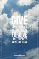 Give and Forgive by danielsingzon
