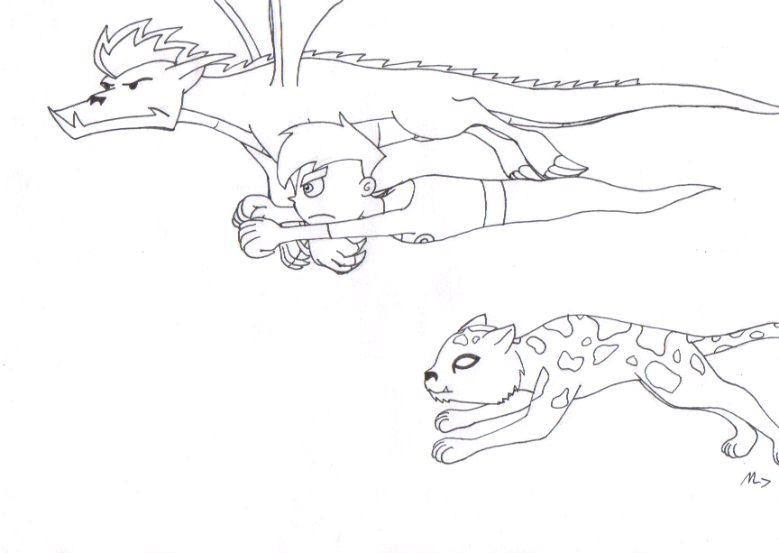 american dragon danny phantom beast boymetalatias5 on