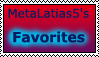 MetaLatias5's Favorite Characters Stamp by MetaLatias5
