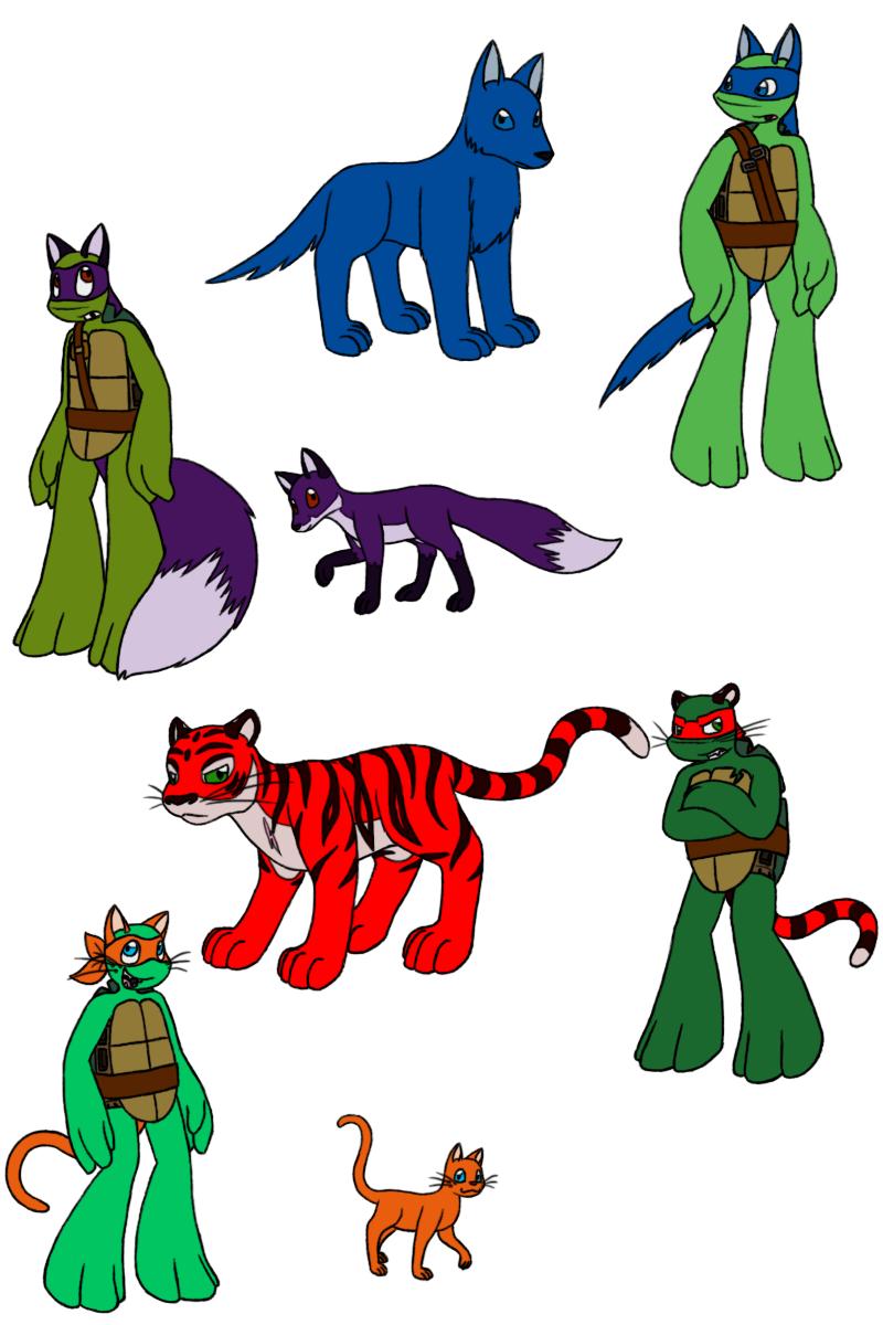 Donatello X Raphael
