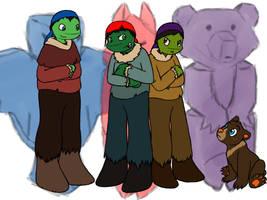 Brother Turtle by MetaLatias5