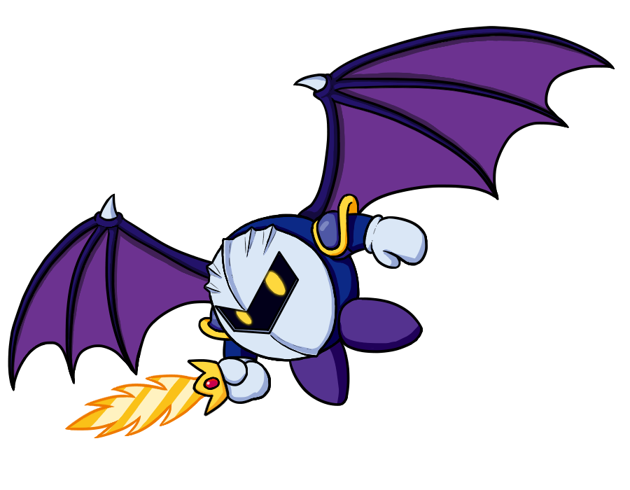 MetaKnight for charity collab by MetaLatias5