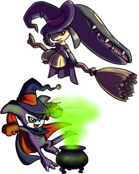 Witchmon Charity Collab Entry