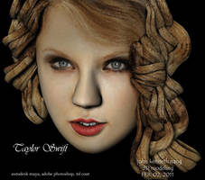 Taylor Swift 3d by kenkennang
