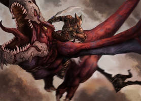 Dragon Rider by sk8rnik