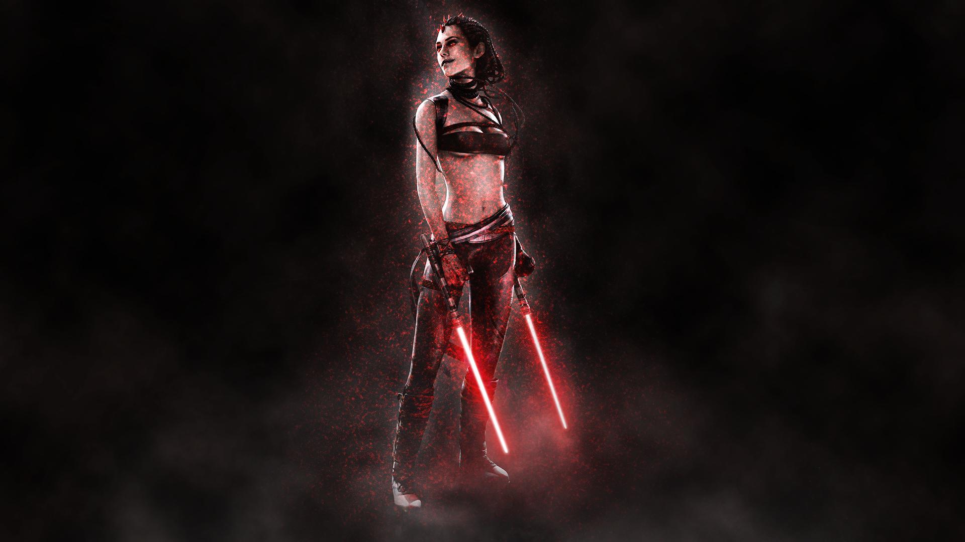 Star Wars Sith Girl Wallpaper By Aidenpearce5 On Deviantart