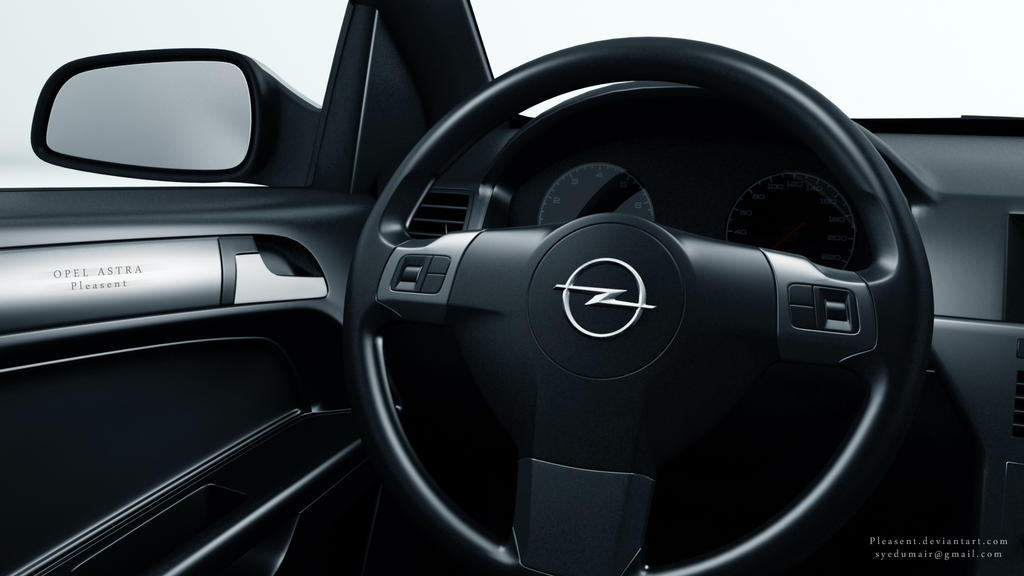 Opel astra interior 01 by pleasent on deviantart for Opel astra 2014 interior