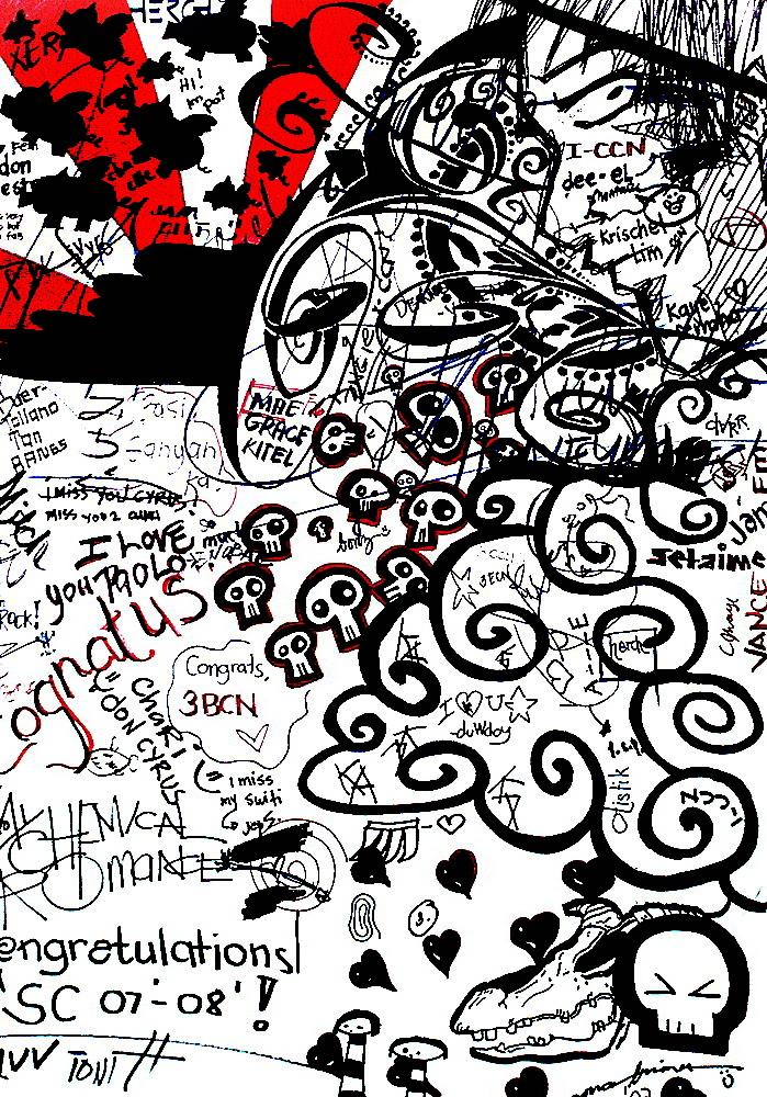 crazy graffiti vector - photo #18