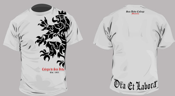 san beda shirt by chaxelos on deviantart