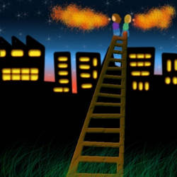 Property ladder.. by Random-Squiggle