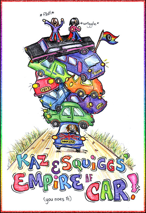 Kaz + Squiggles' Empire of Car by Random-Squiggle