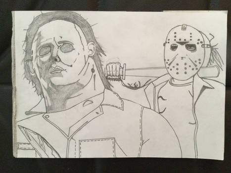 Michael Myers and Jason