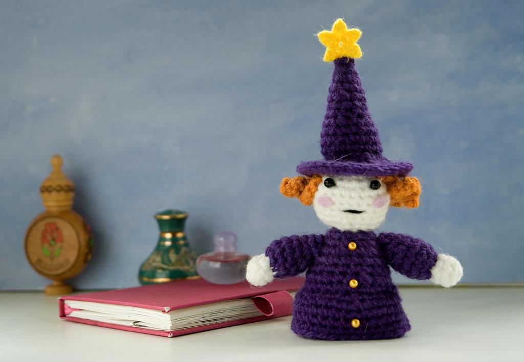 Tiny Amigurumi Doll : Amigurumi doll lolo the tiny alchemist by tinyalchemy on