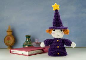 Amigurumi doll: Lolo the tiny alchemist by tinyAlchemy