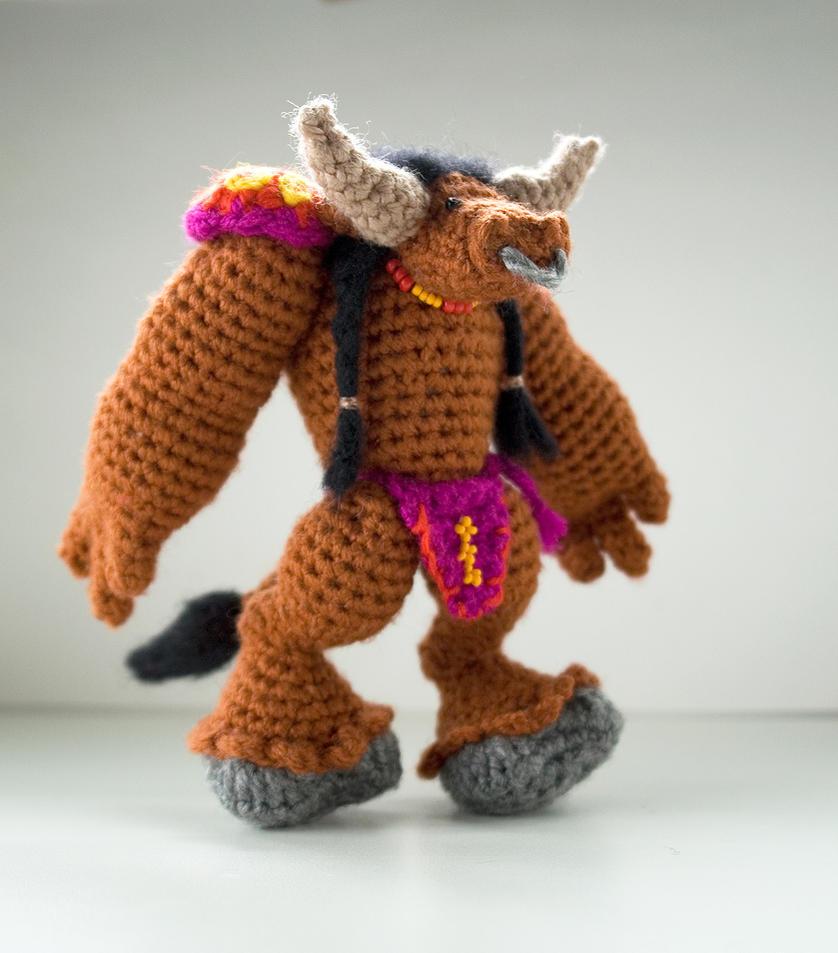 Amigurumi World Download : World of Warcraft: crochet amigurumi tauren by tinyAlchemy ...