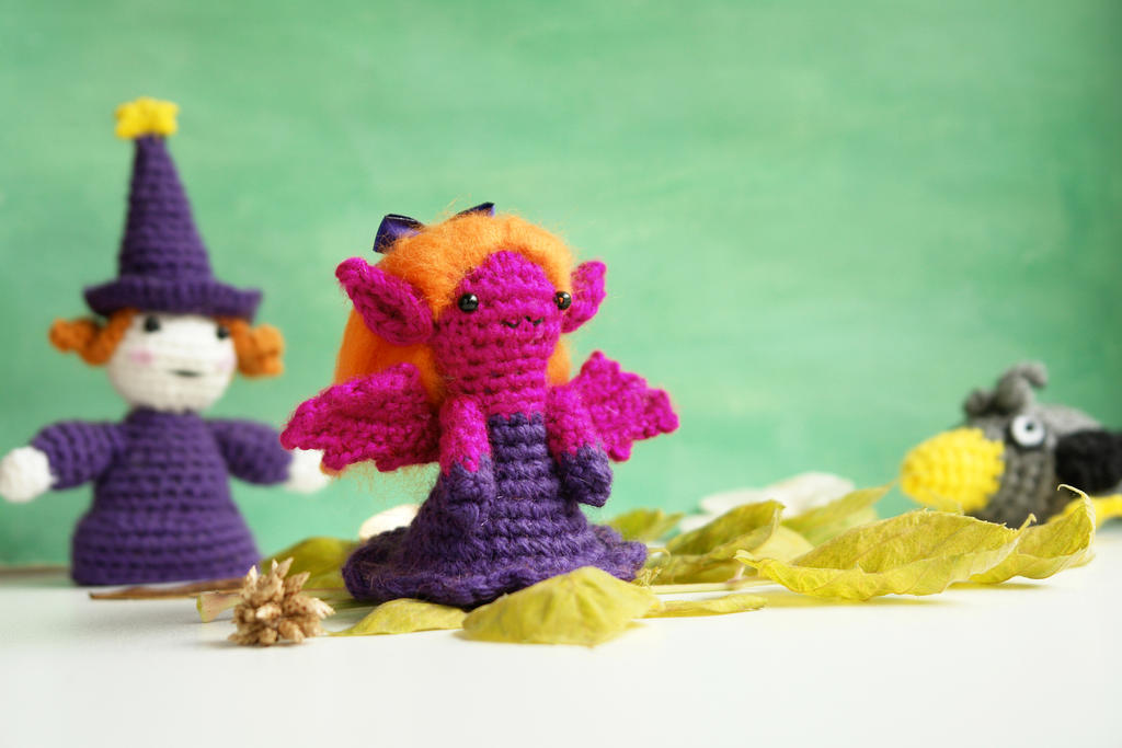 Amigurumi Vampire Girl (free crochet pattern) by ...