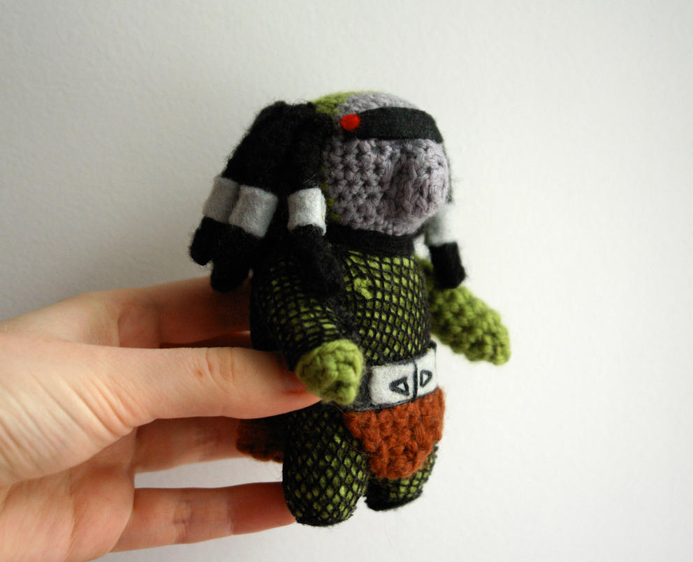 Amigurumi Forum Net : Crochet amigurumi doll: the predator by tinyalchemy on deviantart