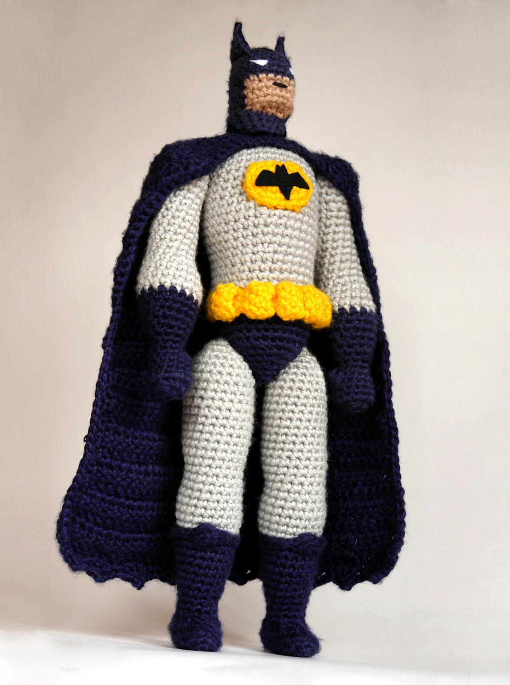 Batman crochet amigurumi doll by tinyAlchemy on DeviantArt