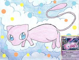 Request for Pokemonfart - Mew card drawing by xXShadow-BlizzardXx