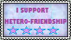Hetero-Friendship Stamp by the-ocean-sings