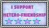 Hetero-Friendship Stamp by the-ocean-sings