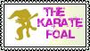 Fluttershy: The Karate Foal Stamp by the-ocean-sings