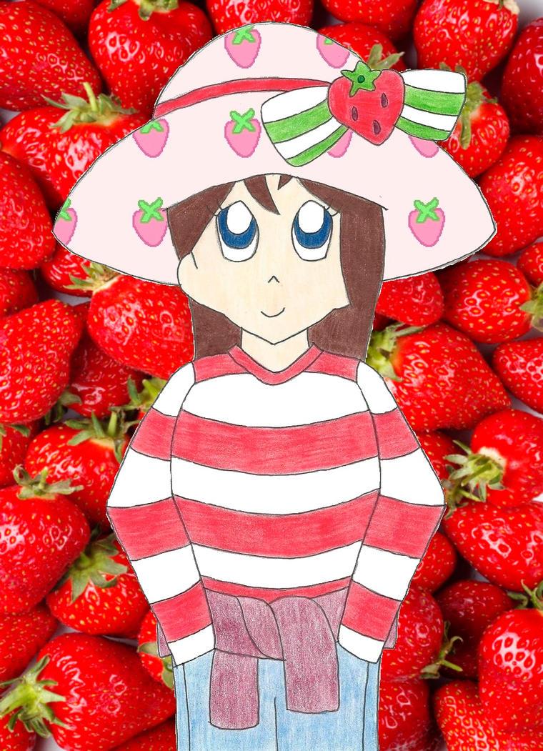 Nissa as Strawberry Shortcake by the-ocean-sings