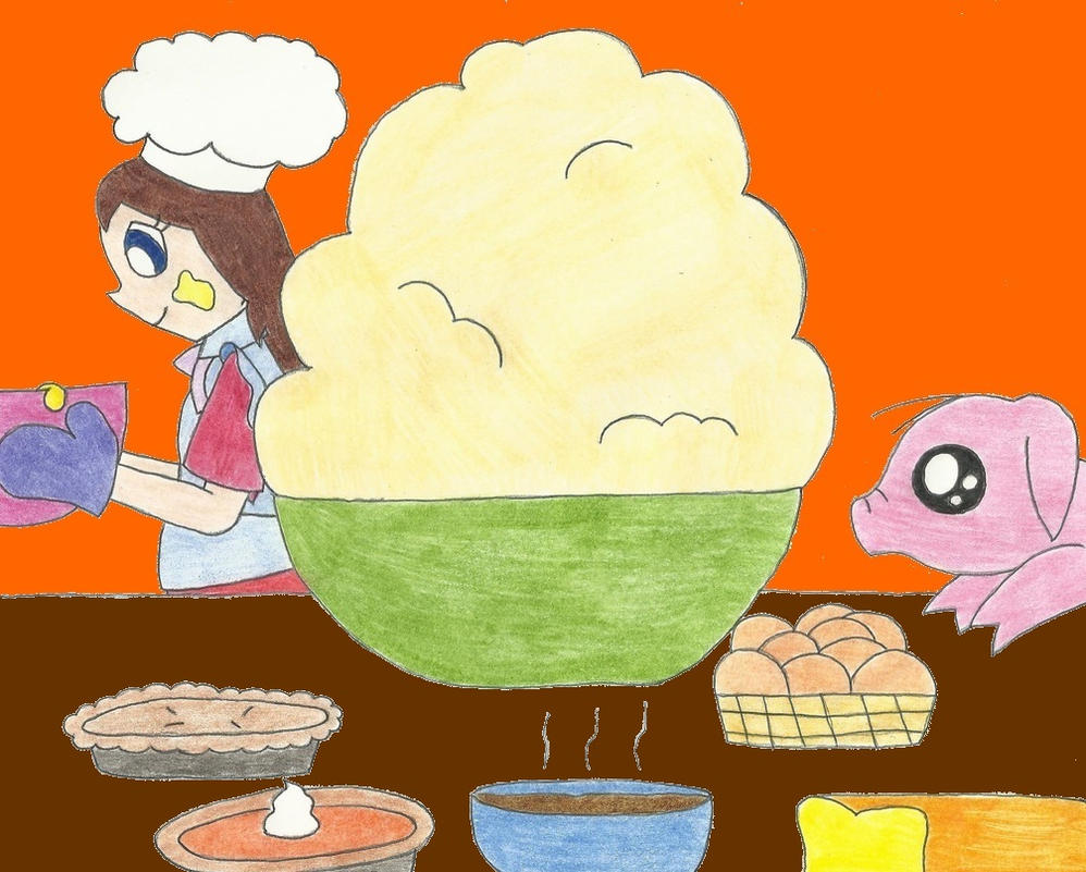 One Piece: Mashed Potatoes by the-ocean-sings