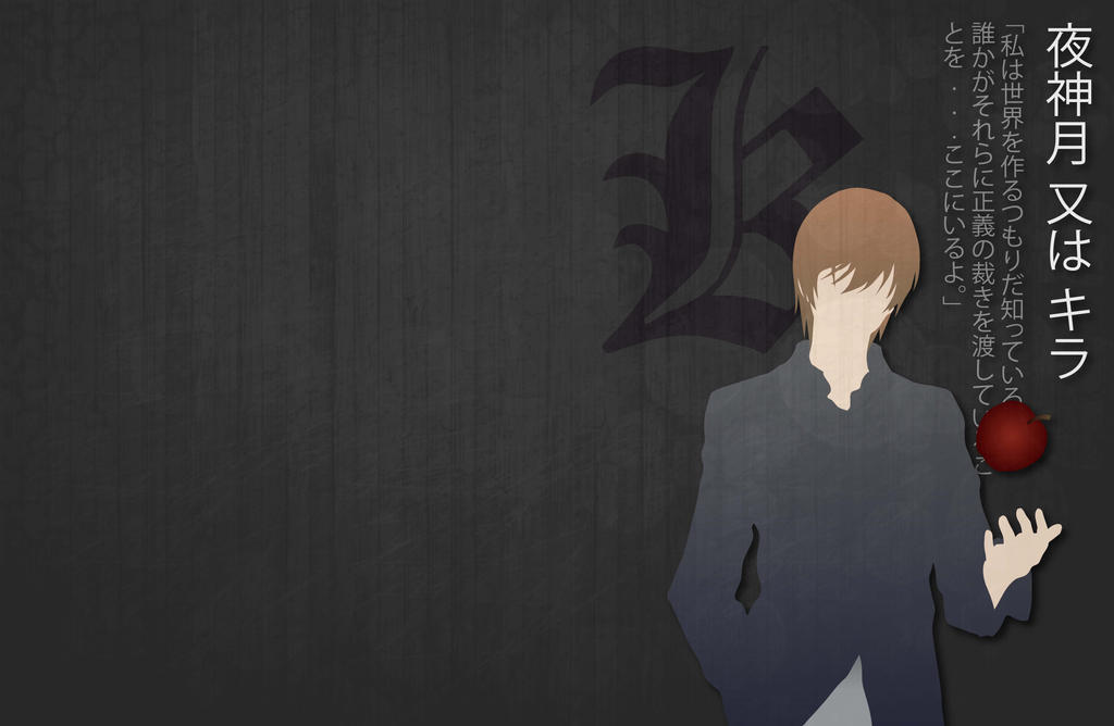 Light Yagami Desktop Wallpaper By Hatake Gaia On Deviantart