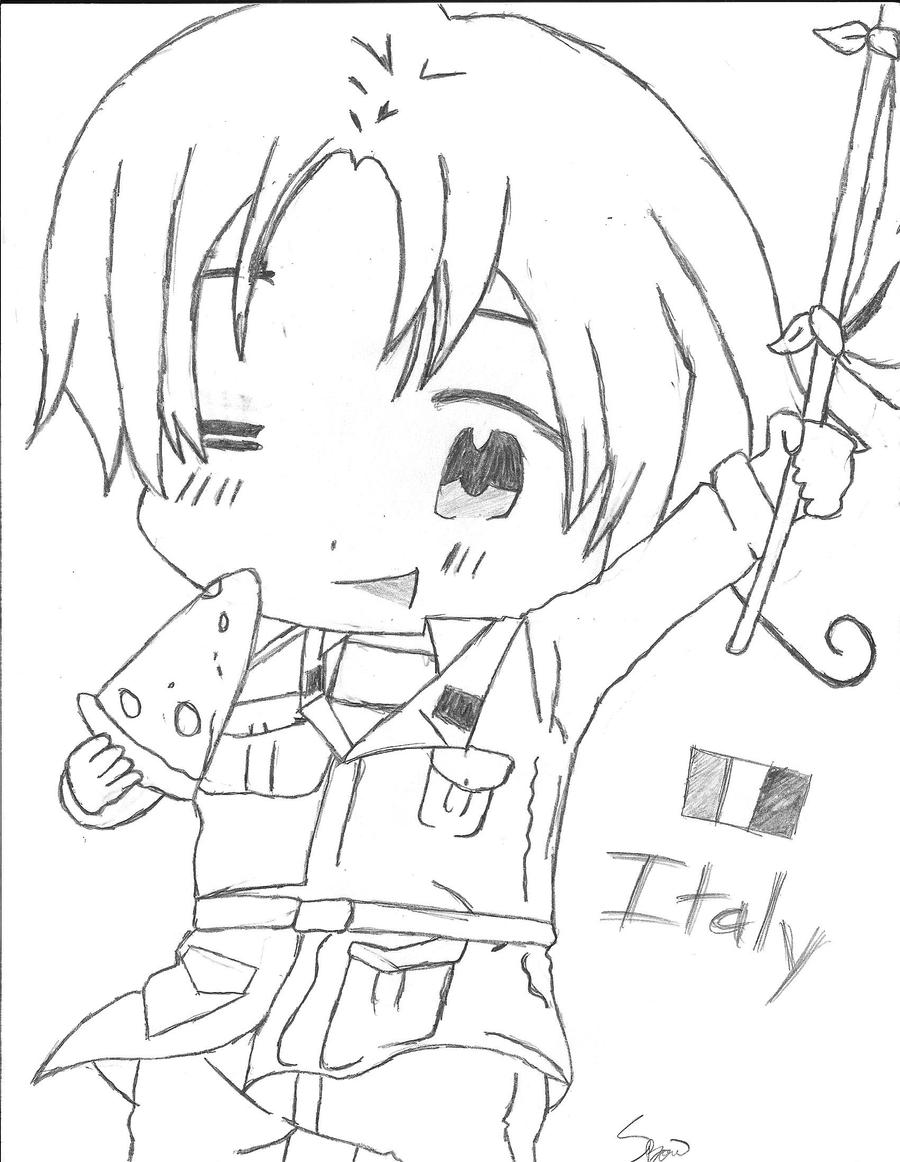 Clip Art Coloring Pages Of Italy hetalia coloring pages eassume com anime pages