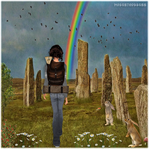 Rainbow's End by modestgoddess