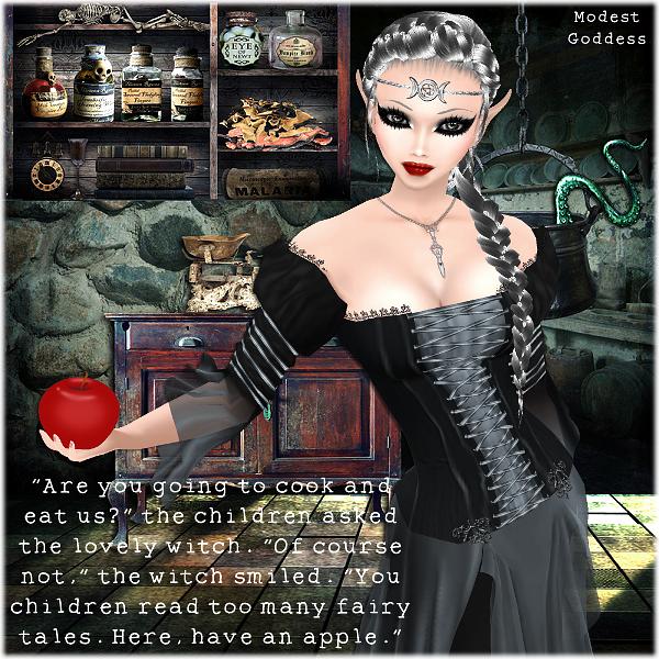 Witchy Tale by modestgoddess