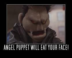 Vampire Angel Puppet by Becca5002