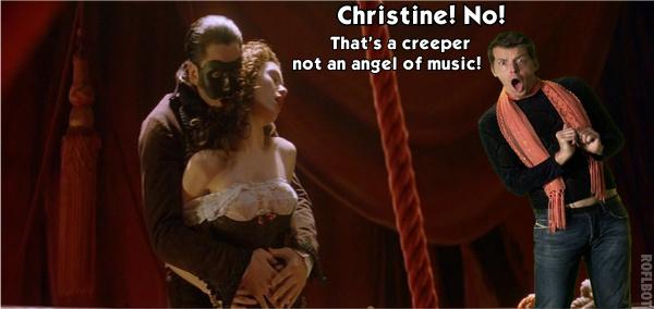 Christine needed a Sassy Gay by Becca5002