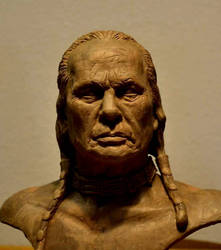Russell Means bust